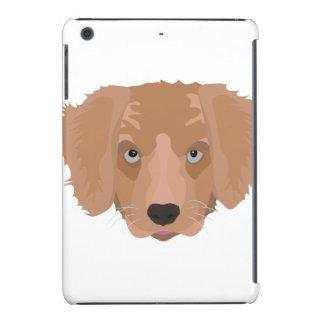Perrito del golden retriever del ejemplo funda de iPad mini