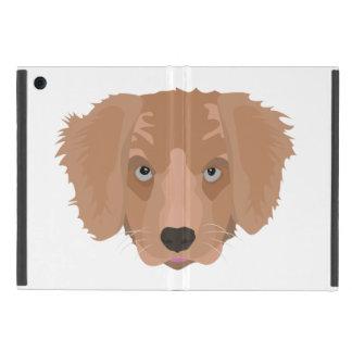 Perrito del golden retriever del ejemplo iPad mini cobertura