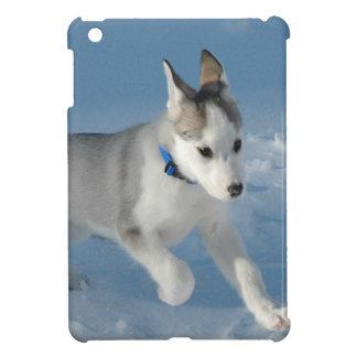 Perrito del husky siberiano iPad mini protector