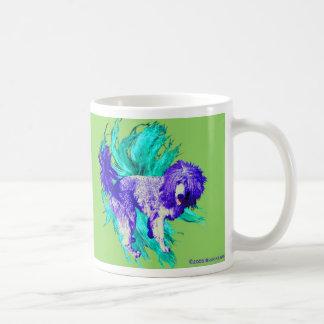 perrito del león taza clásica