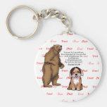 Perrito del oso - confianza - #5 - fe Red.png Llaveros