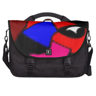Perrito del remiendo bolsas de portátil