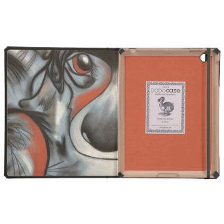 Perrito del remiendo en cajas azules del iPad iPad Protectores