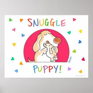 ¡PERRITO DEL SNUGGLE! poster de Sandra Boynton