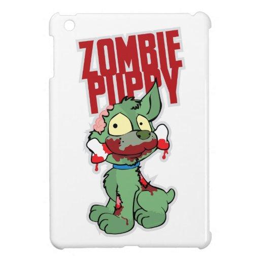 Perrito del zombi iPad mini cárcasa
