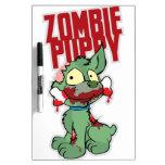Perrito del zombi pizarra