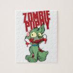 Perrito del zombi puzzles con fotos