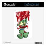 Perrito del zombi skins para iPod touch 4G