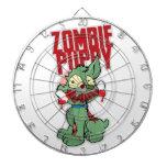 Perrito del zombi tablero dardos