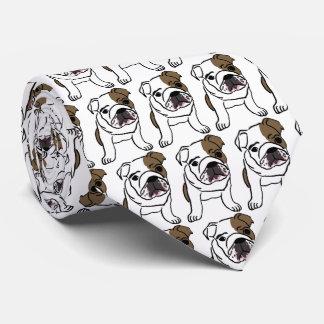 Perrito divertido corbata