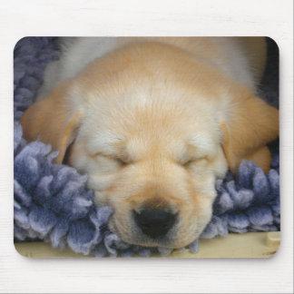 Perrito el dormir tapete de ratón