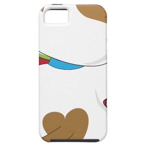 Perrito en escala iPhone 5 carcasa