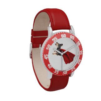 Perrito estupendo relojes de mano