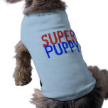 Perrito estupendo - rojo y azul ropa macota