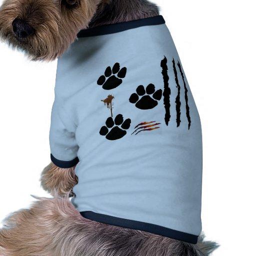 perrito fangoso ropa para mascota