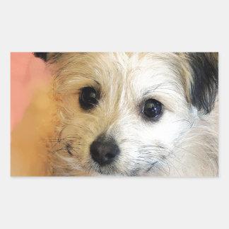 Perrito flojo adorable del rescate del oído rectangular altavoces