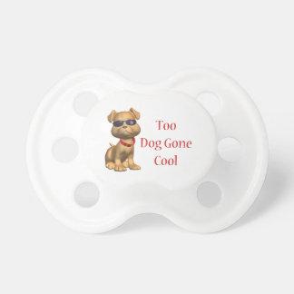 Perrito fresco ido perro chupetes para bebes