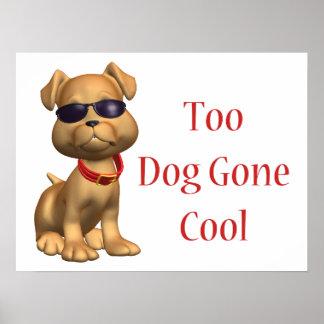 Perrito fresco ido perro poster
