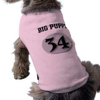 Perrito grande 34 camisas de perritos