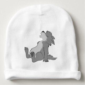 Perrito gris del hombre lobo del grito gorrito para bebe