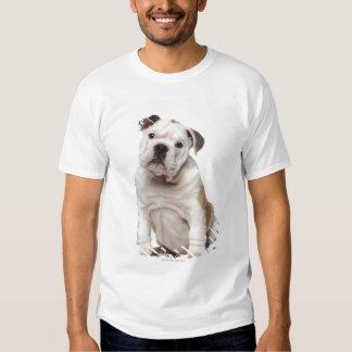 Perrito inglés del dogo (2 meses) remeras