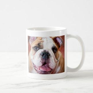 Perrito inglés del dogo tazas
