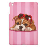 Perrito inglés lindo del dogo iPad mini funda