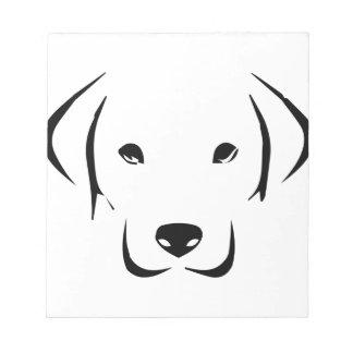 Perrito Labrador Bloc De Notas