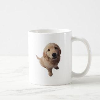 Perrito labrador taza de café