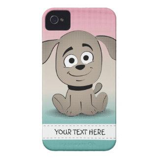 Perrito lindo carcasa para iPhone 4 de Case-Mate