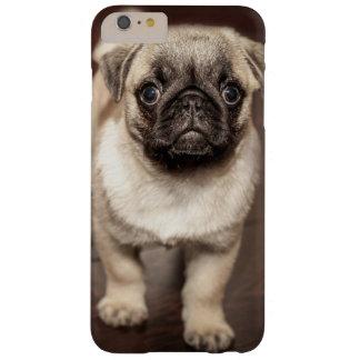 Perrito lindo del barro amasado funda de iPhone 6 plus barely there
