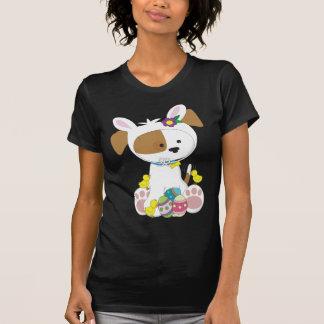 Perrito lindo Pascua Camiseta