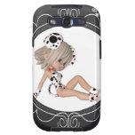 Perrito lindo Toon Samsung Galaxy S3 Cárcasas