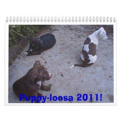 ¡Perrito-loosa 2011! Calendario