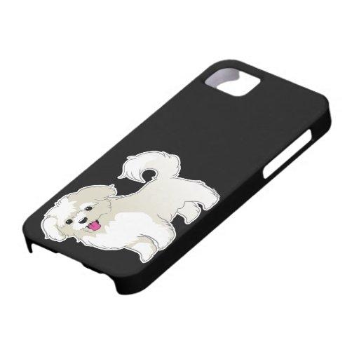 Perrito maltés iPhone 5 Case-Mate fundas
