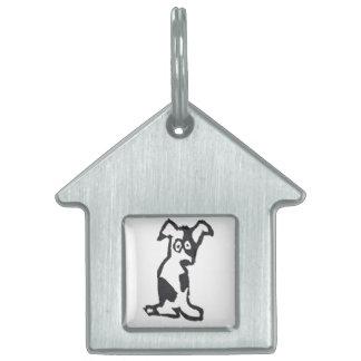 Perrito Placa De Nombre De Mascota