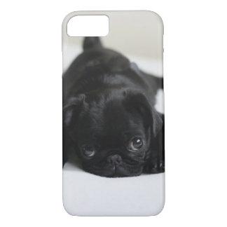 Perrito negro del barro amasado funda iPhone 7