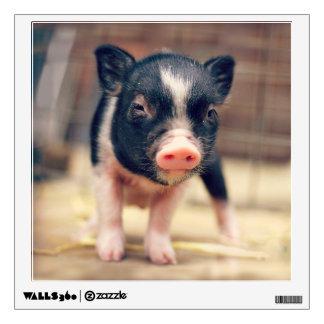 Perrito picazo del cerdo para los amantes del vinilo adhesivo