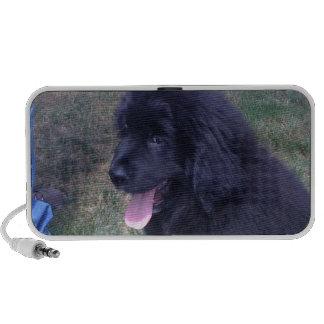 Perrito precioso de Newfie (raza del perro de Terr Portátil Altavoces