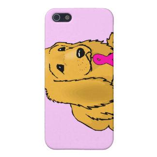 Perrito rosado iPhone 5 carcasa