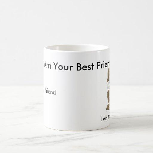 Perrito, soy su mejor amigo, yo soy su mejor F… Taza