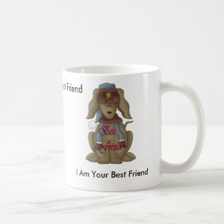 Perrito, soy su mejor amigo, yo soy su mejor F… Taza De Café