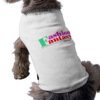 Perrito T del logotipo de FFG Ropa Perro