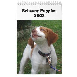 Perritos 2008 de Bretaña Calendario