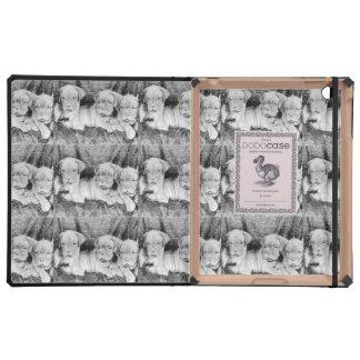 Perritos de Dogue de Bordeaux iPad Carcasas