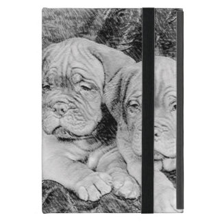 Perritos de Dogue de Bordeaux iPad Mini Carcasa