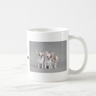 Perritos de la chihuahua tazas de café