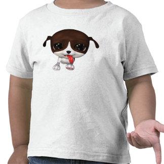 Perritos de la señal Camiseta del niño de la papa
