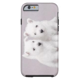 Perritos de Westie Funda De iPhone 6 Tough