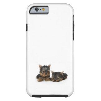 Perritos de Yorkshire Terrier Funda De iPhone 6 Tough
